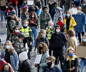 NETHERLANDS-US-PROTEST-FLOYD