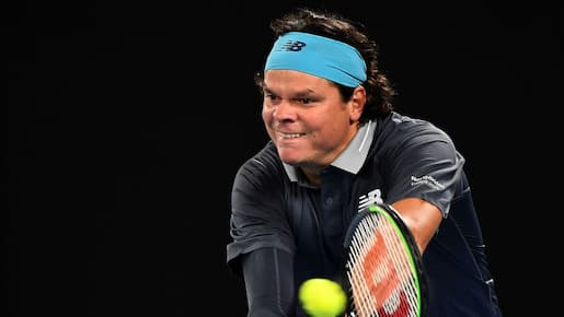 Milos Raonic poursuit sa route à Miami