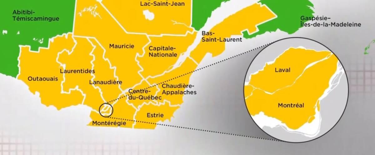La Beauce en zone jaune: «Enfin, nous sommes Québécois à temps plein»