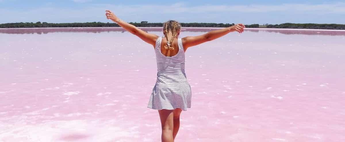 7 lacs rose bonbon qui semblent complètement irréels