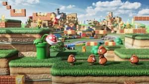 Image principale de l'article Super Nintendo World en pleine action [VIDÉO]