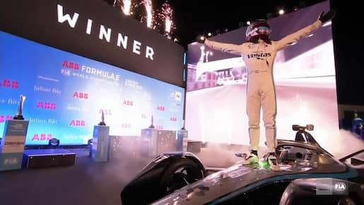 Formule E: Nyck de Vries s'impose au ePrix de Dariya