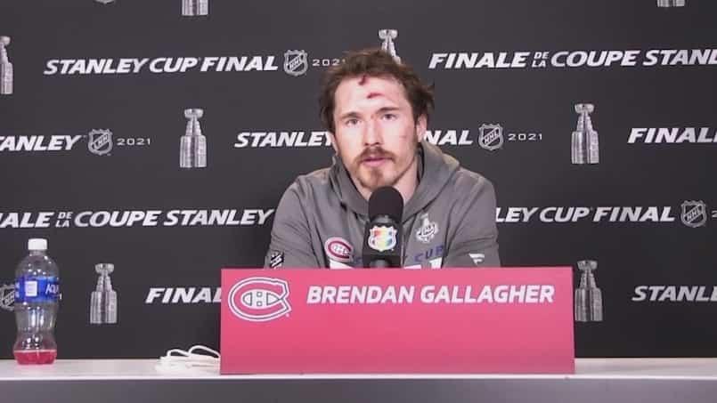Gallagher, une inspiration en vue du deuxième match