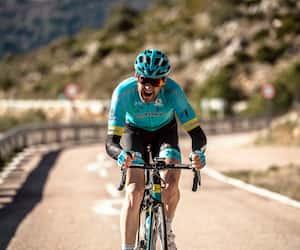 L'entreprise québécoise Premier Tech est maintenant copropriétaire de l'équipe cycliste Astana. En photo, Hugo Houle.