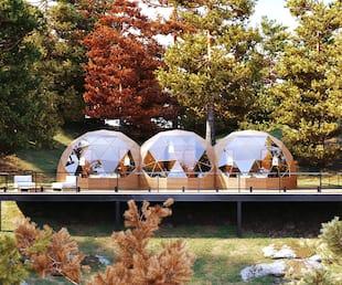 Image principale de l'article Un «triple dôme» pour vos séjours en nature