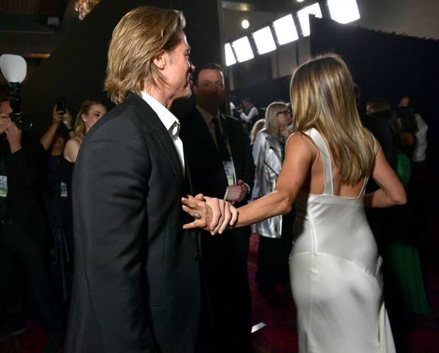 Image principale de l'article Brad et Jen se sont rapprochés et le web capote