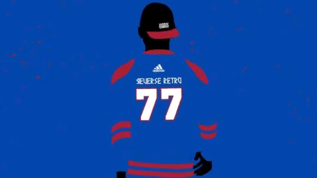 Un Chandail Bleu Pour Les Canadiens Tva Sports