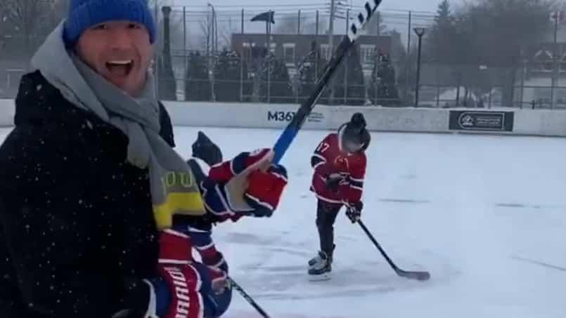 Kovalchuk s'éclate en pleine tempête!
