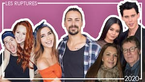 Image principale de l'article Les ruptures de célébrités depuis le début de 2020