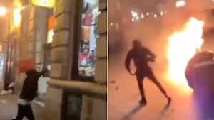 Image principale de l'article 10 vidéos de la manifestation qui a dérapé