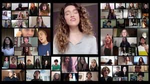Image principale de l'article Une chorale italienne chante l'espoir par vidéo
