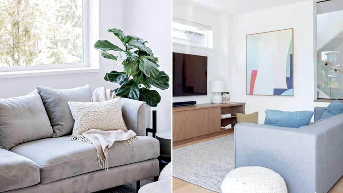 Salon Et Cuisine Aire Ouverte une maison simple et moderne | salut bonjour