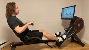 À l'essai du rameur intelligent Echelon Smart Rower (Row-S).