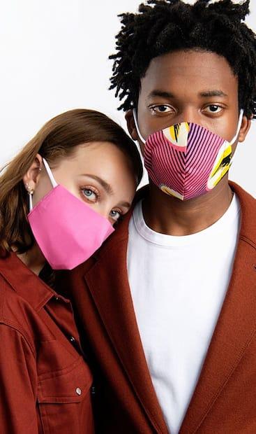 Image principale de l'article Des masques d'artisans québécois sur Simons.ca