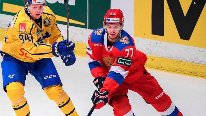 CORRECTION-IHOCKEY-GAMES-SWE-RUS