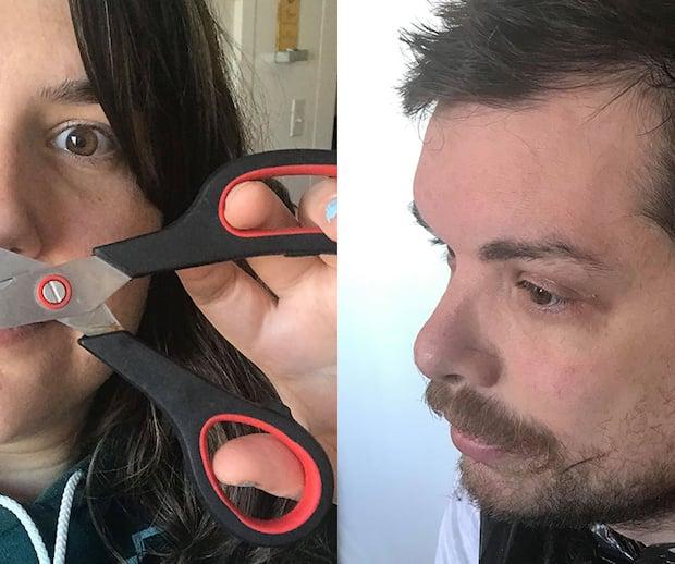 Image principale de l'article J'ai coupé les cheveux de mon chum