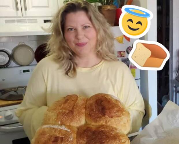 Image principale de l'article Elle cuit plus de 800 pains pendant le confinement