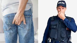 Image principale de l'article Il a pété volontairement près de policiers