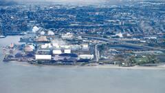 Lourde amende pour le déversement de 500 kg d'engrais dans le fleuve Saint-Laurent