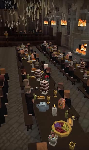 Image principale de l'article Une aventure d'Harry Potter dans Minecraft