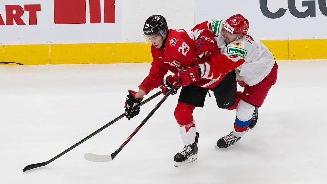 HKI-HKO-SPO-CANADA-V-RUSSIA:-SEMIFINALS---2021-IIHF-WORLD-JUNIOR