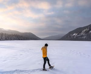 Image principale de l'article 8 belles randonnées en raquettes au Québec