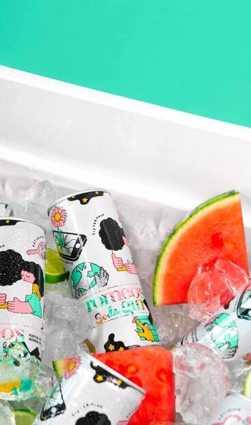 Image principale de l'article Un nouveau gin soda au melon d'eau par romeo's gin