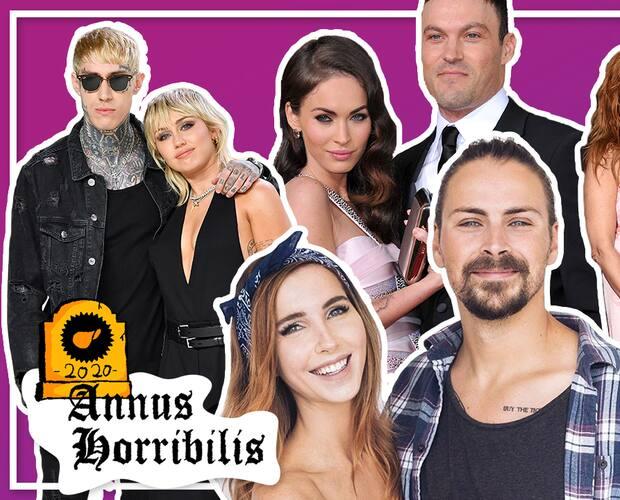 Image principale de l'article Les ruptures de célébrités de 2020