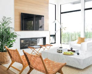 Image principale de l'article Une maison moderne au look simple et accueillant