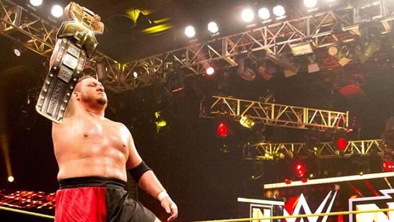 Le retour de Samoa Joe à NXT