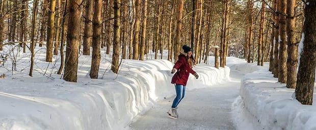 Image principale de l'article 8 belles patinoires en forêt à essayer cet hiver