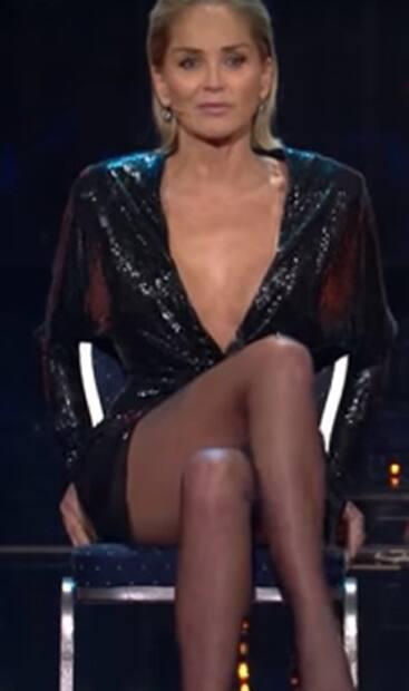 Image principale de l'article Sharon Stone reproduit LA scène de Basic Instinct