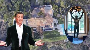 Image principale de l'article Stallone met en vente sa maison de 130 M$