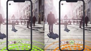 Image principale de l'article Filtres Snapchat pour adopter les gestes barrières