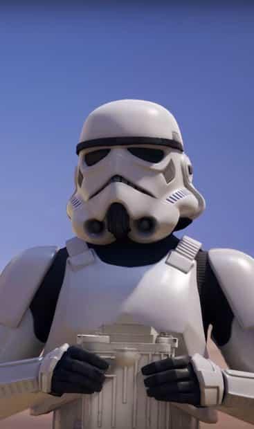 Image principale de l'article Les Stormtroopers arrivent dans Fortnite
