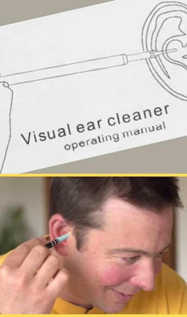 Image principale de l'article On inspecté nos oreilles avec une mini caméra HD