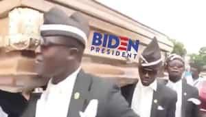 Image principale de l'article Trump se moque de Biden avec le «Coffin Dance»