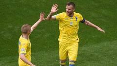 Euro: l'Ukraine se relance, la Macédoine du Nord s'éloigne