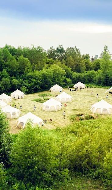 Image principale de l'article Un «hôtel» nomade pour faire du camping de luxe