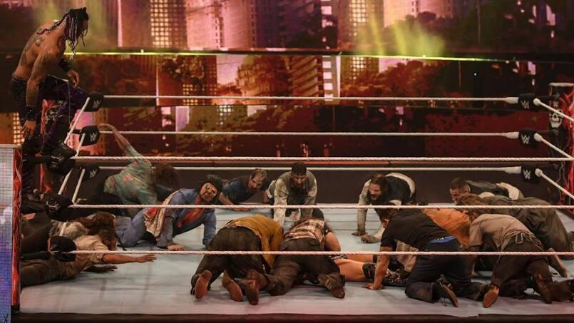 Une attaque de zombies à la WWE
