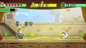 Image principale de l'article Et si Zelda avait le style de Paper Mario?