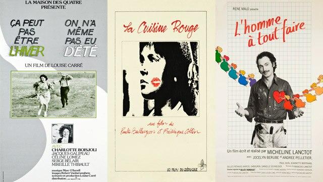 Neuf films du début des années 1980 numérisés, restaurés et disponibles