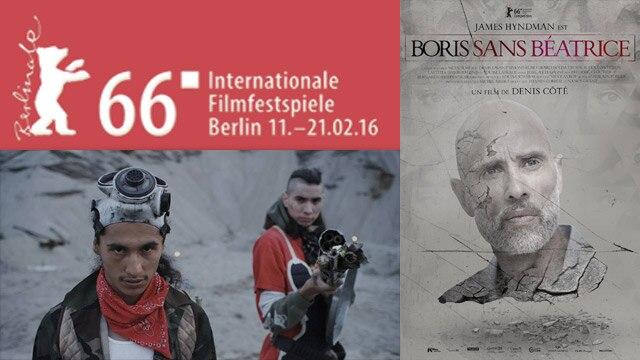 Deux longs métrages québécois de fiction à l'honneur à Berlin