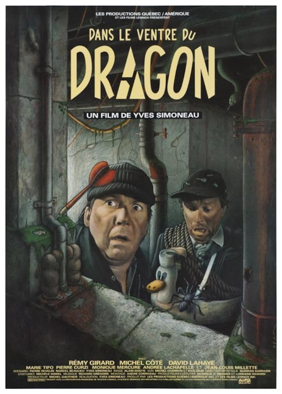 Dans le ventre du dragon