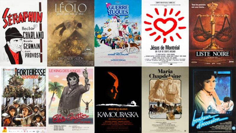 Dix titres du répertoire Éléphant dans le catalogue du Club illico