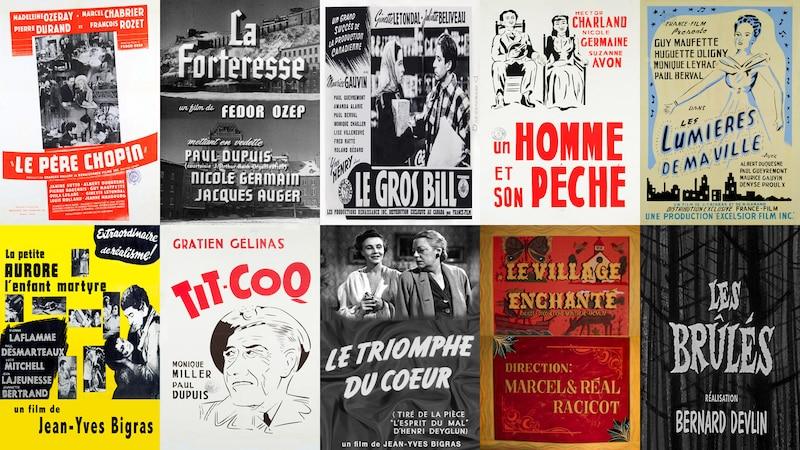 Seize films d'avant 1960 numérisés, restaurés et disponibles