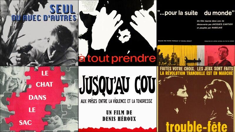 Six films de la première moitié des années 1960 numérisés, restaurés et disponibles