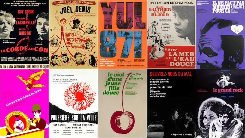 Dix-sept longs métrages de la fin des années 60 numérisés, restaurés et disponibles