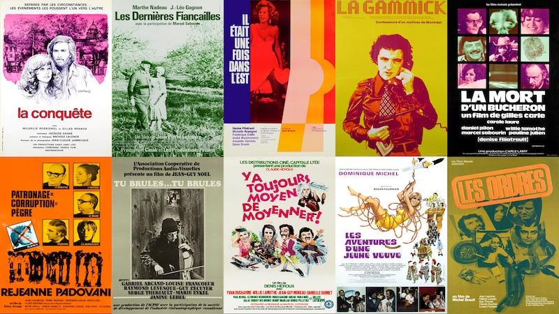 Vingt et un films de 1973 et 1974 numérisés, restaurés et disponibles