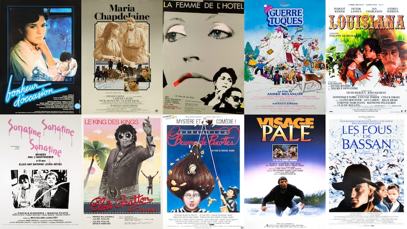 Vingt et un films du milieu des années 80  numérisés, restaurés et disponibles